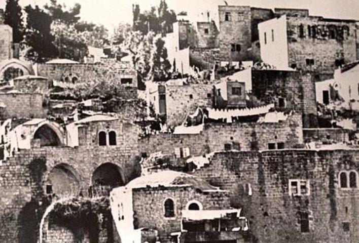 قرية دير ياسين المهجرة قضاء القدس