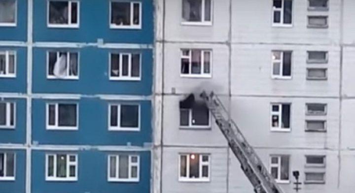 شاهد عملية إنقاذ تحبس الأنفاس في روسيا