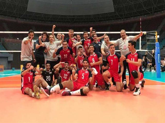 فوز مصر وهزيمة تونس بمونديال كرة الطائرة في اليابان