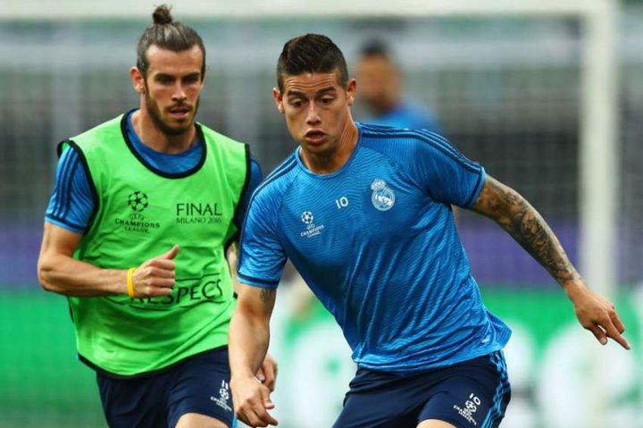 ريال مدريد يستبعد بيل وخاميس عن مباراة كلوب بروج