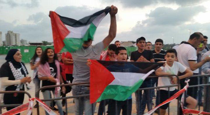 الاحتلال يعتدي على متضامنين مع الاسير سامر العربيد