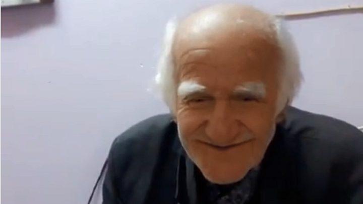 """نهاية محزنة لـ""""عالم عراقي """" مسن"""