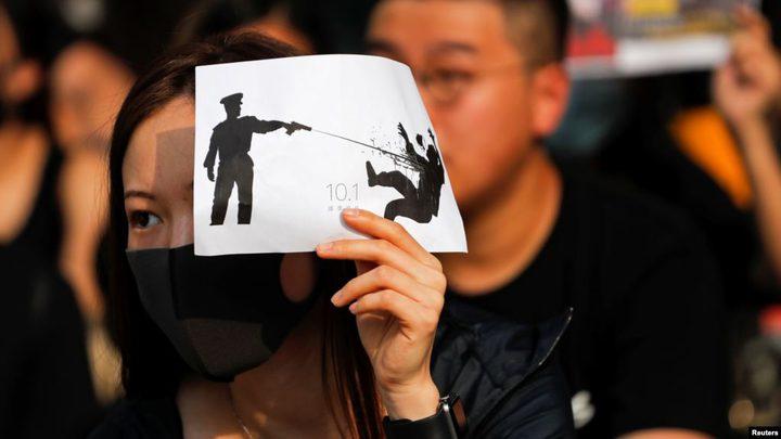 """هونغ كونغ: الاعتصامات مستمرة بـ""""العيد الوطني"""""""