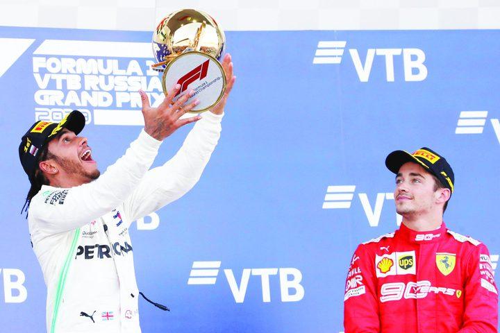 هاميلتون يفوز بجائزة روسيا الكبرى