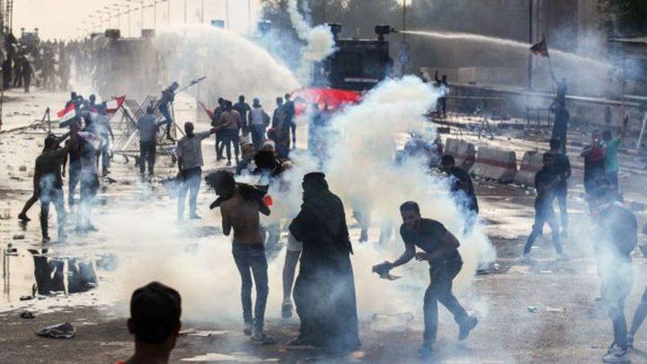 ارتفاع حصيلة الضحايا في احتجاجات العراق
