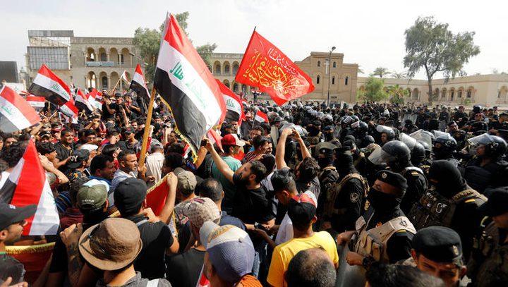 العراق: ارتفاع حصيلة قتلى الاحتجاجات الى 35