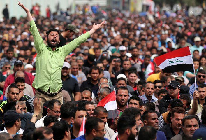 ارتفاع قتلى مظاهرات العراق خلال الأيام الماضية إلى 44