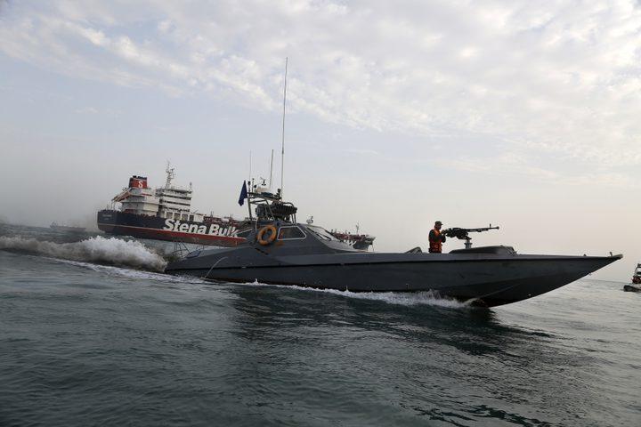 إيران: الإفراج عن 7 من أفراد طاقم ناقلة نفط