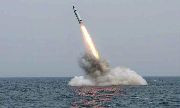 كوريا الشمالية تفاجئ أميركا بصاروخ جديد من تحت الماء