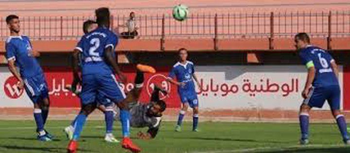 التعادلات تخيم على مباريات الدرجتين الأولى والثانية بغزة