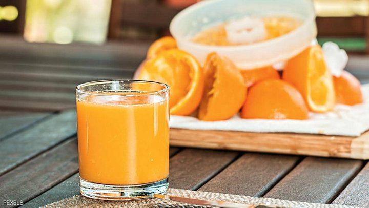 عصير البرتقال يزيد احتمالات الإصابة بالسكري