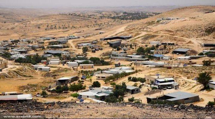 مخطط لتهجير 63 ألف فلسطيني بالنقب