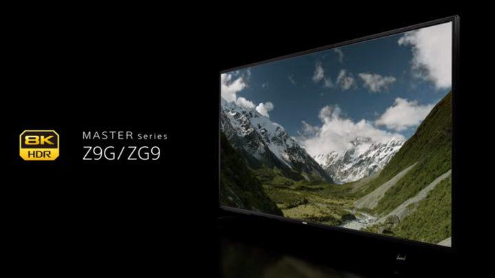 أجهزة تلفاز بدقة 8k من سوني