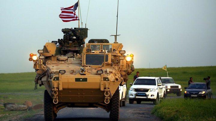 سوريا: الجيش الأمريكي ينسحب من قاعدة تل أرقم