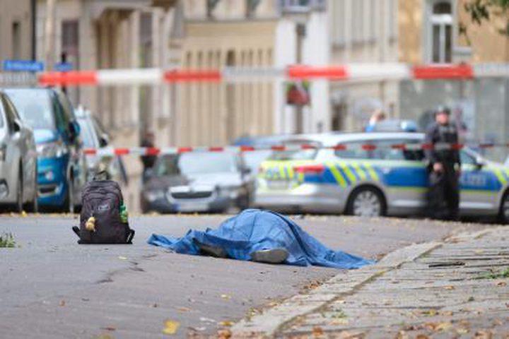 المانيا: مقتل شخصين أمام كنيس يهودي بإطلاق نار