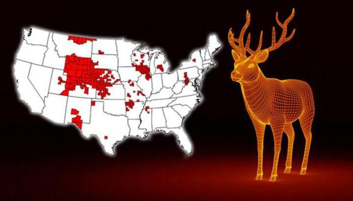 """غزلان """"زومبي"""" تثير الرعب في 24 ولاية أميركية !"""