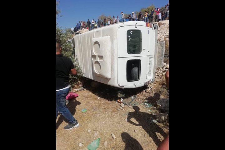14 إصابة إثر حادث سير شرق بيت لحم