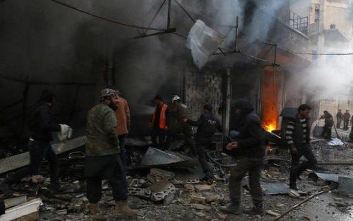 """""""داعش"""" يشن هجوما انتحاريا بمدينة الرقة"""
