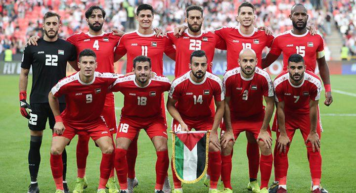 المنتخب الفلسطيني يستعد لمواجهة نظيره السعودي