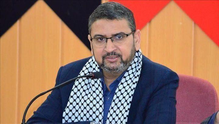 """أبو زهري: الحملة ضد تركيا مرفوضة و""""إسرائيل"""" هي العدو"""