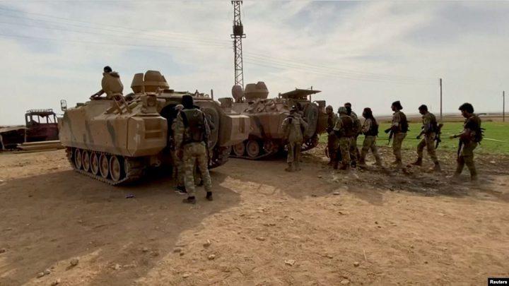 """تركيا تواصل عمليتها العسكرية """"نبع السلام"""" شمال سوريا"""