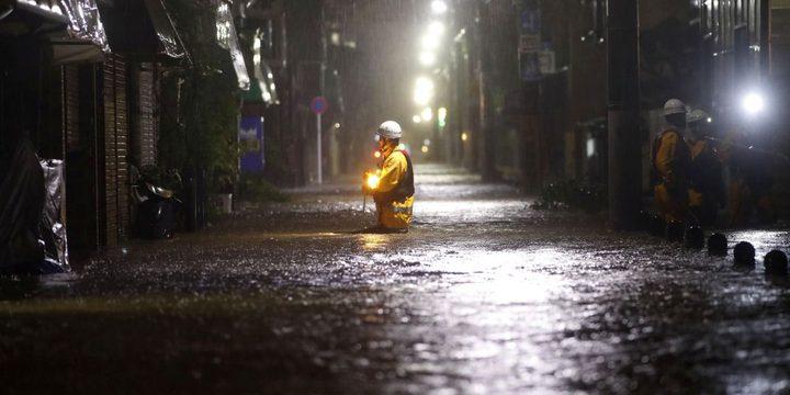 """وفاة 26 شخصاً على الأقل إثر """"هاغيبيس"""" في اليابان"""