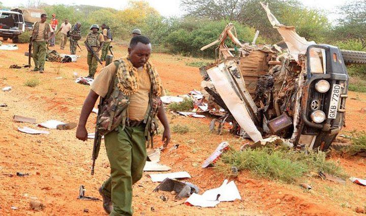 كينيا: مقتل 10 أفراد من الشرطة إثر انفجار