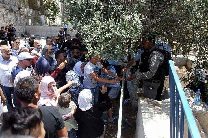 أبو عصب: الاحتلال يواصل انتهاكاته بحق المقدسيين