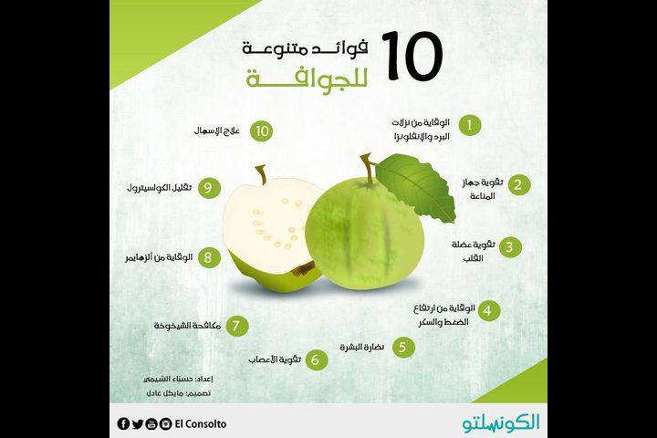فوائد مذهلة للجوافة .. تعرّف عليها