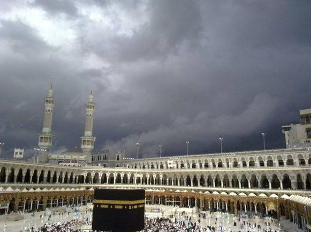 الأرصاد السعودية تتنبأ بأمطار وسحب رعدية في مكة ونجران