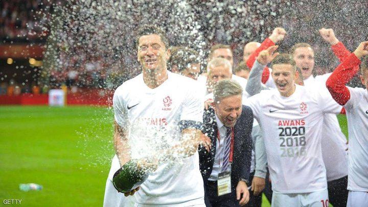 منح بولندا بطاقة التأهل لأمم أوروبا 2020