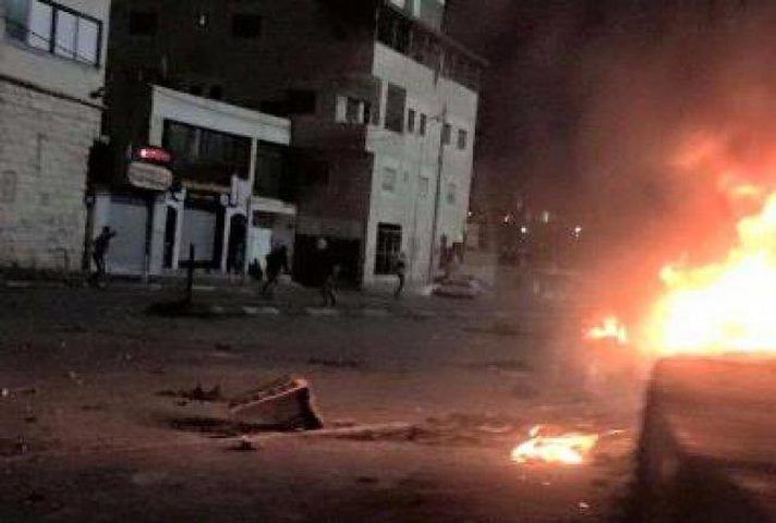 إصابة شاب برصاص الاحتلال شرق القدس