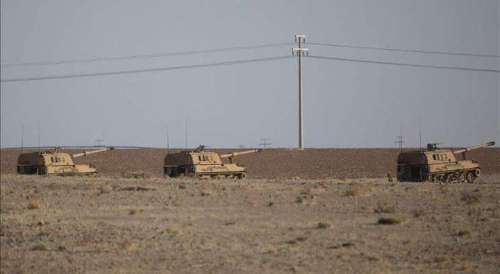 سانا: الجيش السوري يدخل بلدة تل تمر