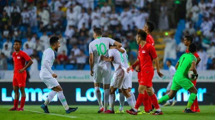 الرئيس يهنئ الرجوب والمسحل بنجاح مباراة فلسطين والسعودية