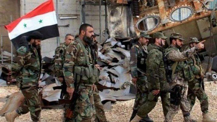 """الجيش السوري يسيطر على """"منبج"""" ومقتل جندي تركي"""