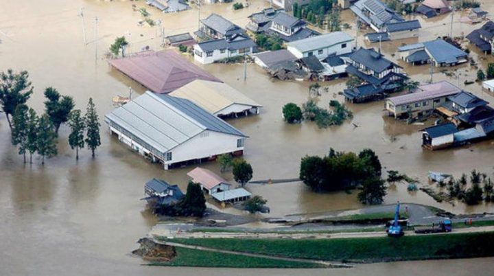 ارتفاع عدد قتلى إعصار اليابان