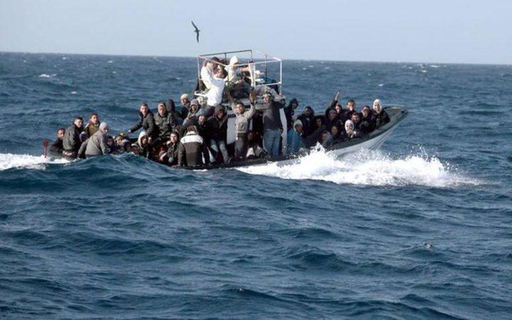 البحرية الليبية تنقذ 90 مهاجرا