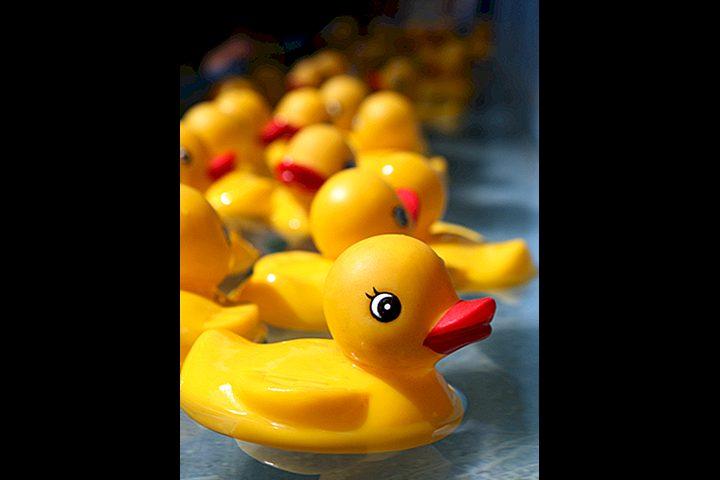 ما هي خطورة إدخال دمى البط الصفراء إلى حوض استحمام الطفل ؟