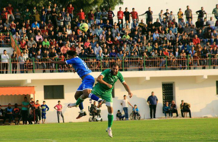 الاتحاد الفلسطيني لكرة القدم يعاقب الشاطئ و الشجاعية