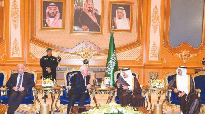 اتفاق فلسطيني سعودي على انشاء لجنة اقتصادية مشتركة