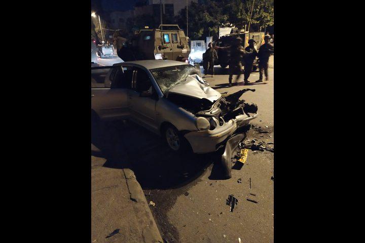 اصابة شابين برصاص الاحتلال قرب مخيم الأمعري