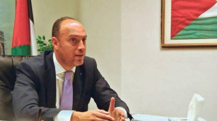 زملط يطالب بالضغط على حكومة لندن للاعتراف بدولة فلسطين