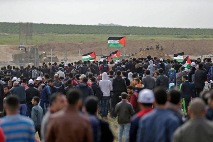 إصابات بالرصاص والاختناق من قبل الاحتلال شرق غزة