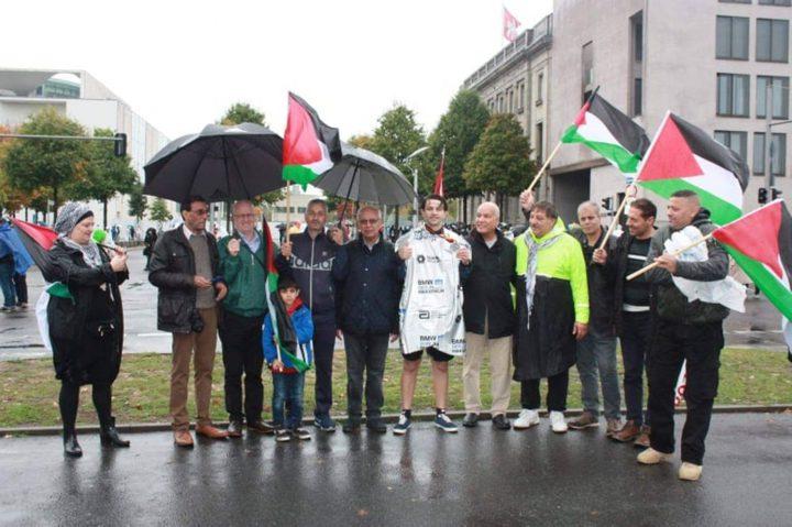 ماراثون في ألمانيا دعما لفلسطين