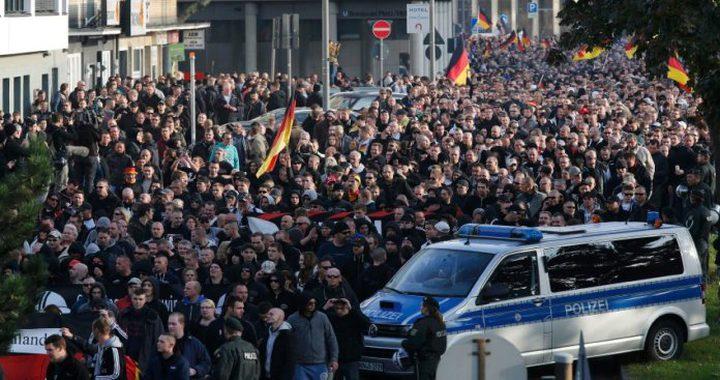 مظاهرة في ألمانيا تنديدا بالعدوان التركي على سوريا