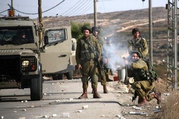إصابة فتى 16 عاماً برصاص الاحتلال