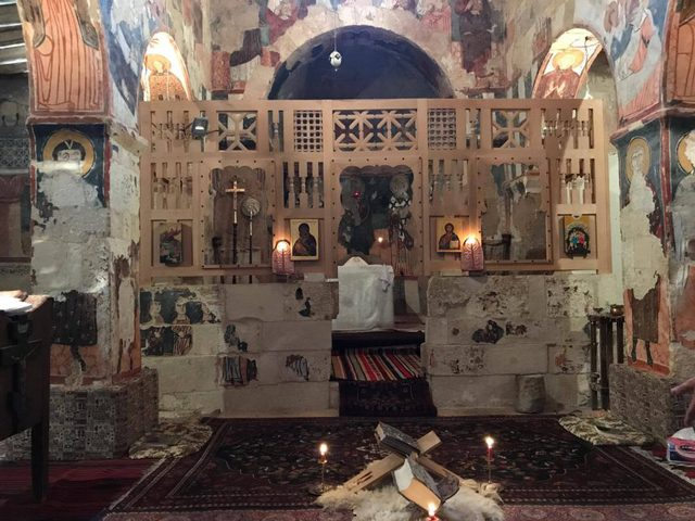 لجنة الكنائس تدشن أعمال ترميم كنيسة موسى الحبشي في نابلس