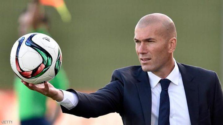 زين الدين زيدان يعبر عن استيائه من هزيمة ريال مدريد بالليغا