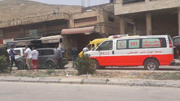 7 إصابات بينها طفلان في حادث سير غرب مدينة نابلس