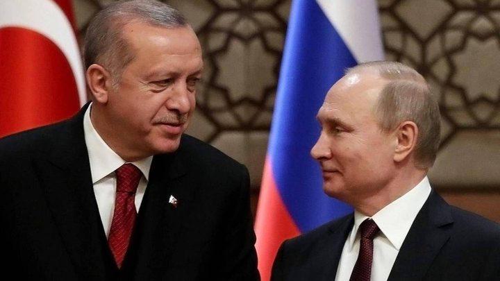 """بوتين يلتقي أردوغان اليوم لبحث تطورات عملية """"نبع السلام"""""""